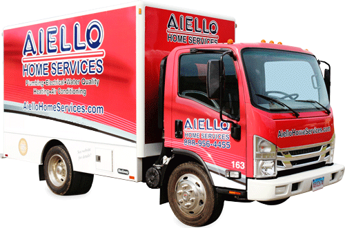Aiello Big Red Truck