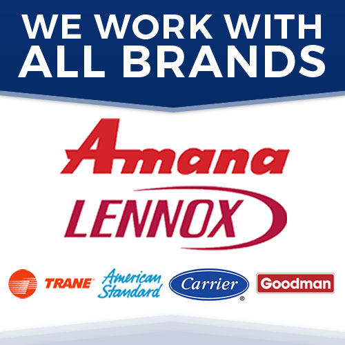We work with all brands!