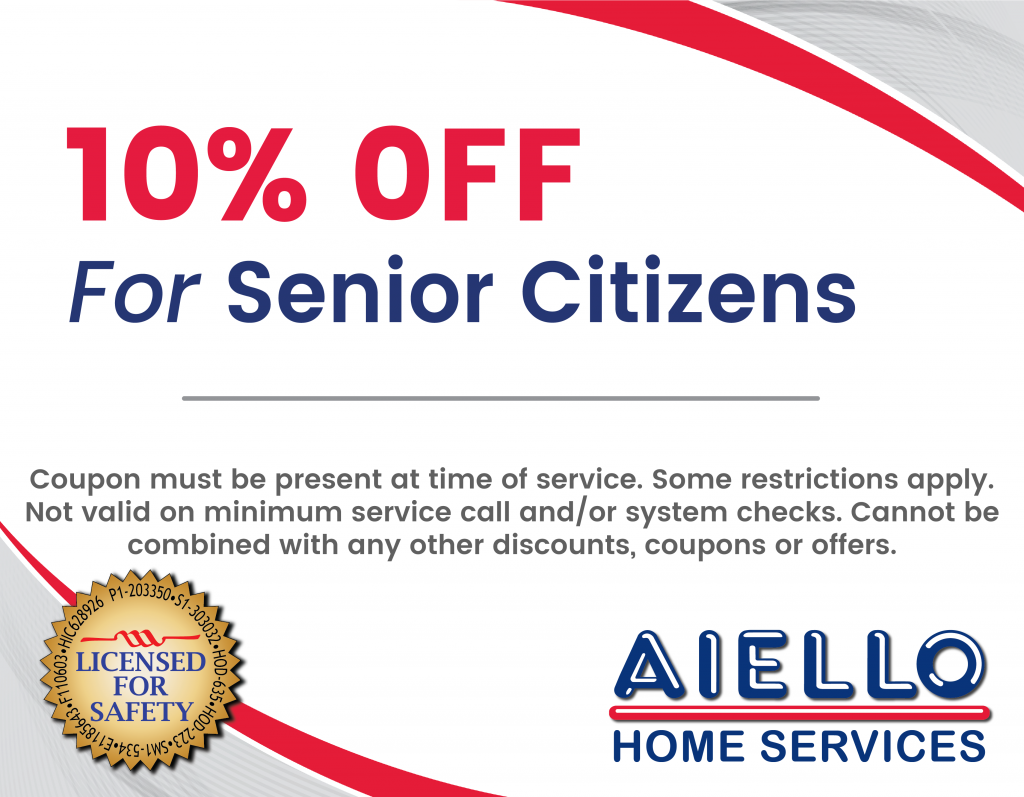 Senior Citizen Discount Aiello Home Services