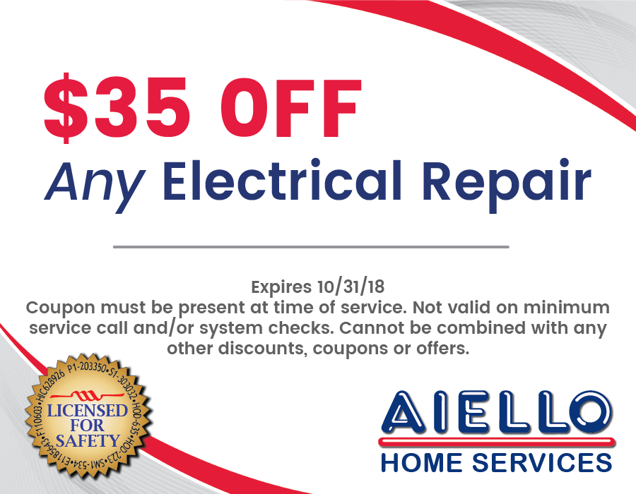 Aiello Electric Coupon October