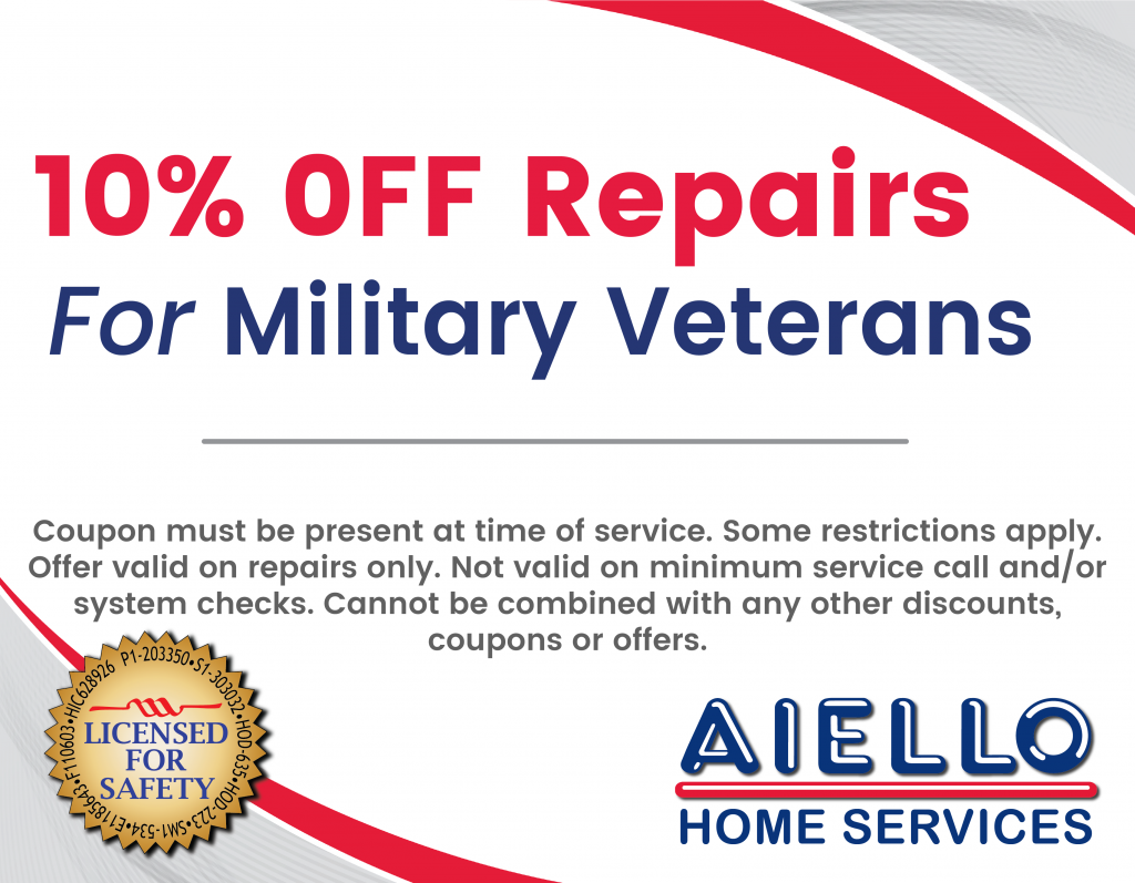 Veterans 10% Discount Coupon